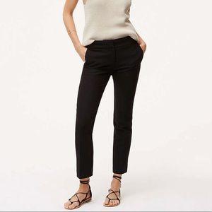 LOFT Slim Pencil Black Dress Pant in Marisa Fit